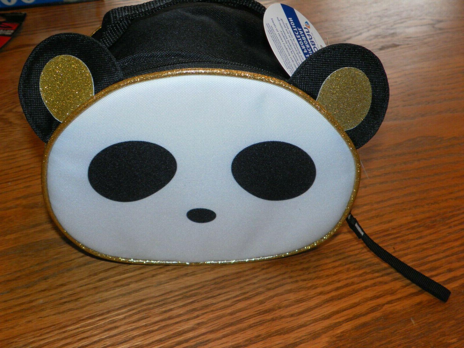 panda insulated lunch box bag w microban