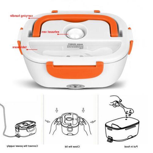 Portable Lunch Box Bento Hot 12V