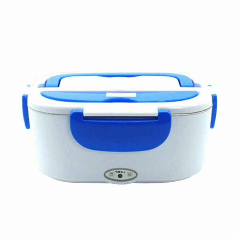 12V Portable Car Plug Heating Lunch Box Bento Warmer