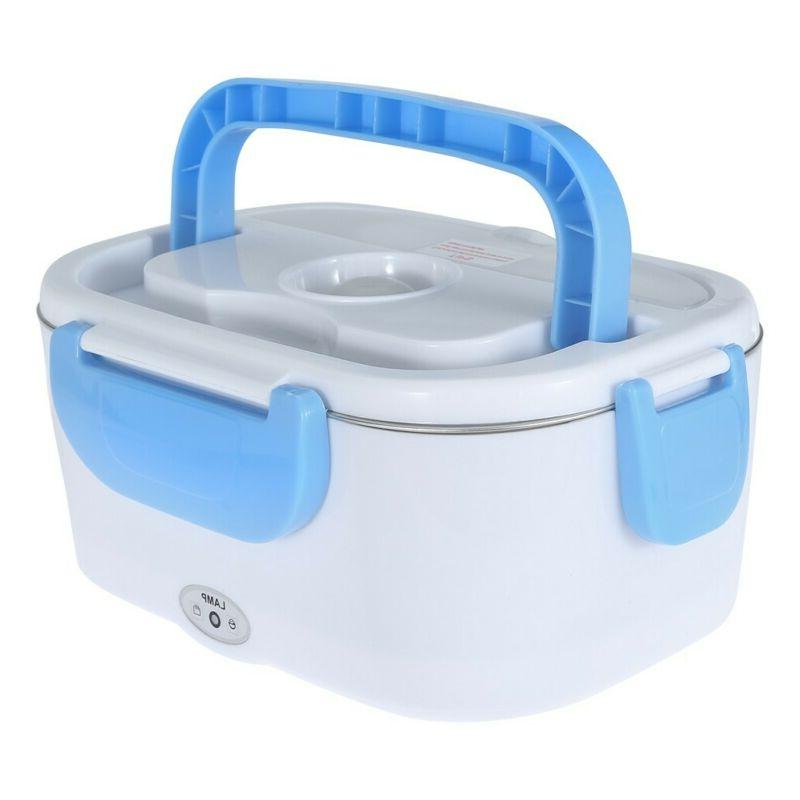 Portable Heated Warmer Container Hot Meal Lunchbox