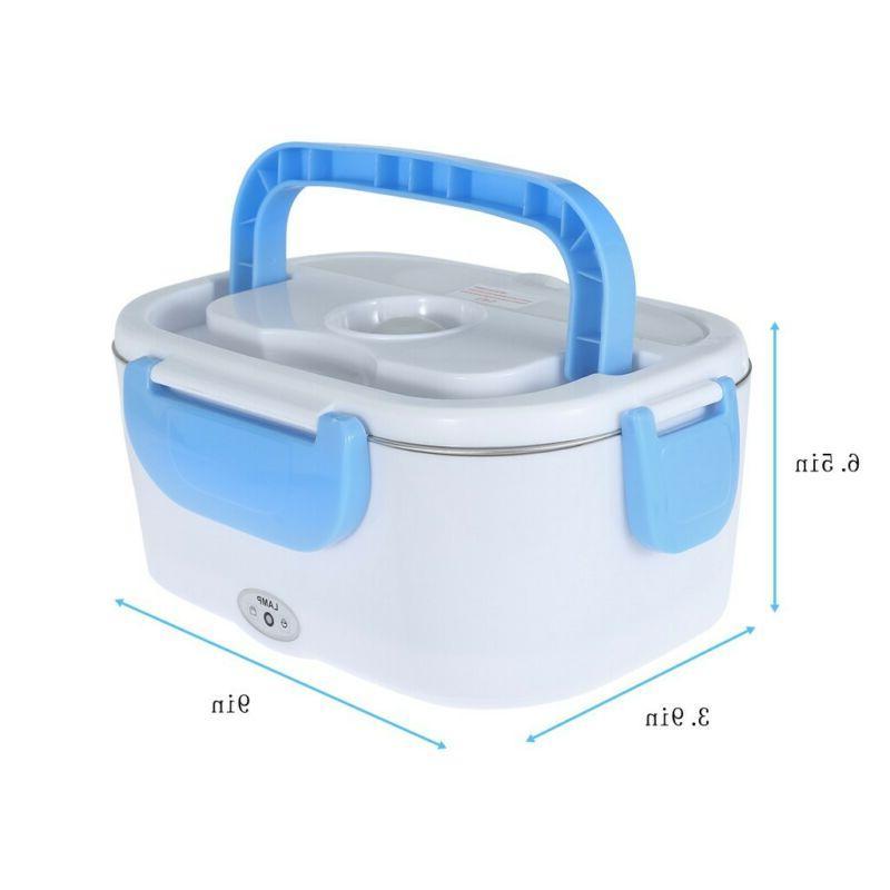 Portable Electric Food Warmer Box Hot Lunchbox
