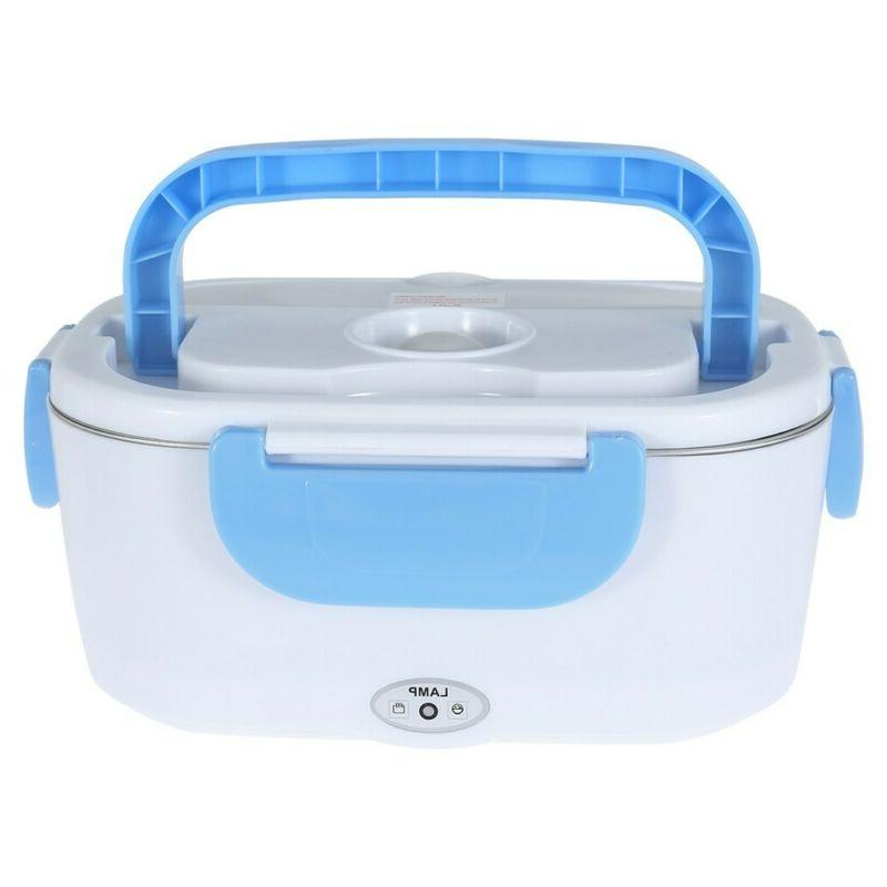 Portable Electric Heated Food Warmer Container Lunch Hot Lunchbox