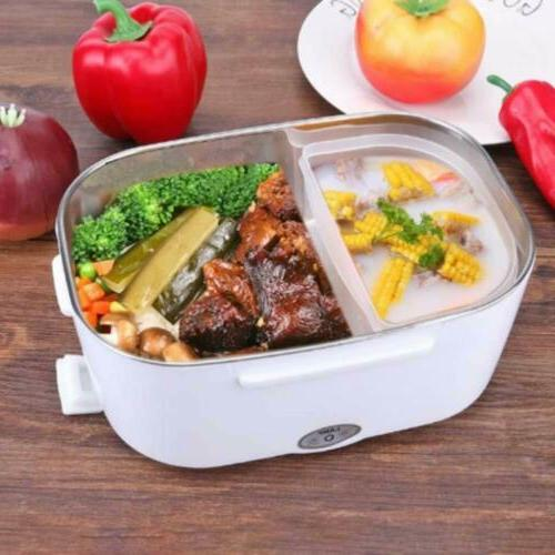 12V Electric Heating Box Food Heater Bento Warmer