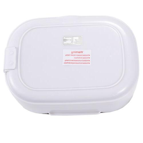Portable Electric Heating Lunch Box Heater Stainless Food Container 1.5L