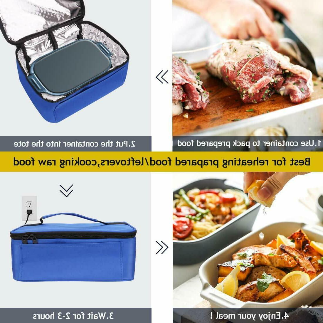 Portable Food Warmers Heater Lunch Oven 12V Office