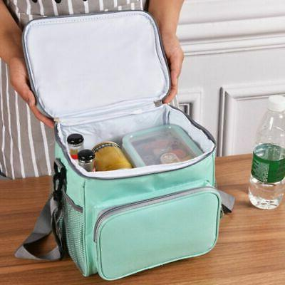 Portable Thermal Insulated Bag Travel Box Tote Men