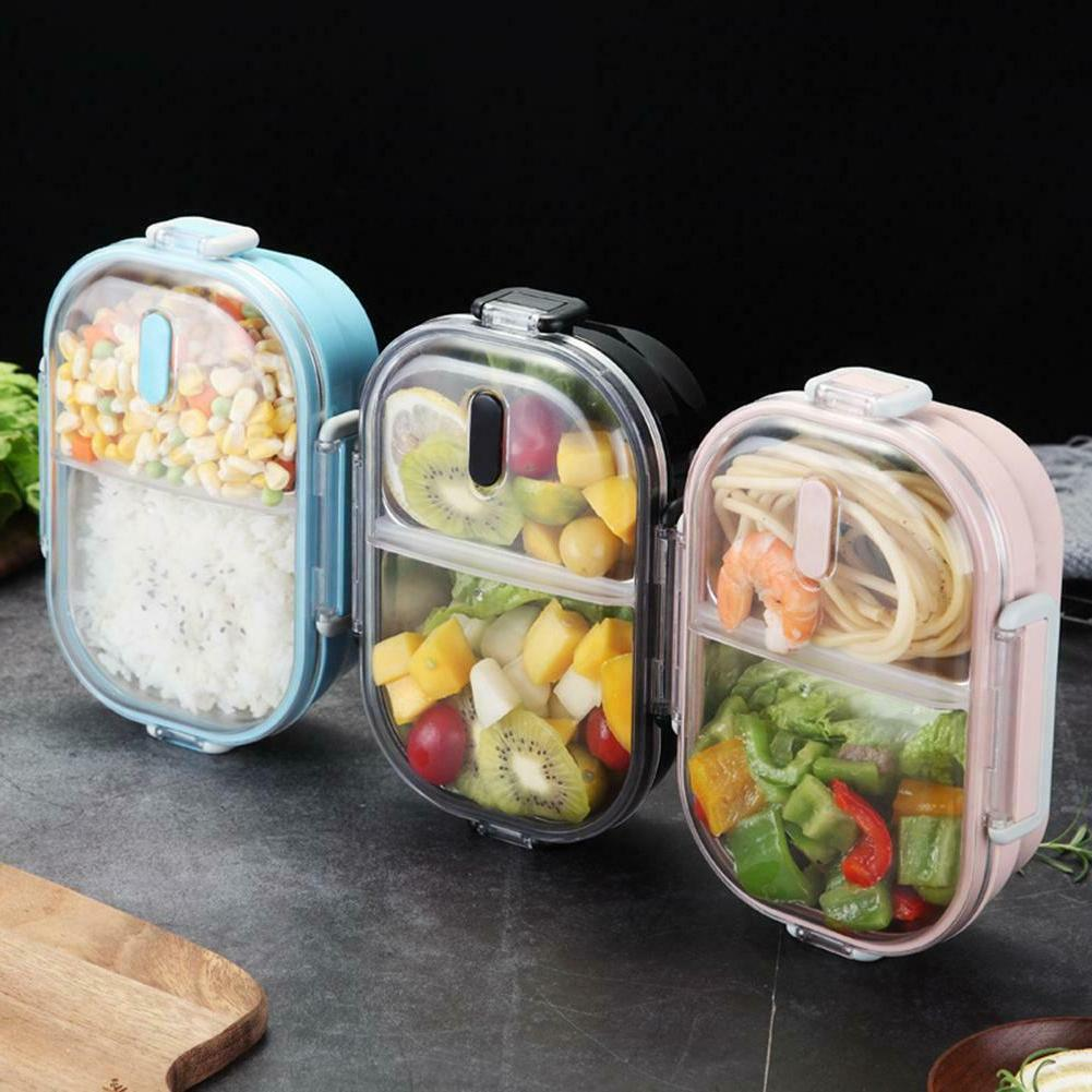 Portable Lunch Box Kitchen Leak-proof Bento Food Container f