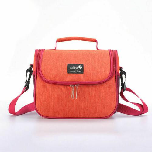 Portable Thermal Lunch Bag Travel Picnic Lunch Box Men