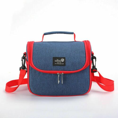 Portable Insulated Lunch Bag Box Men