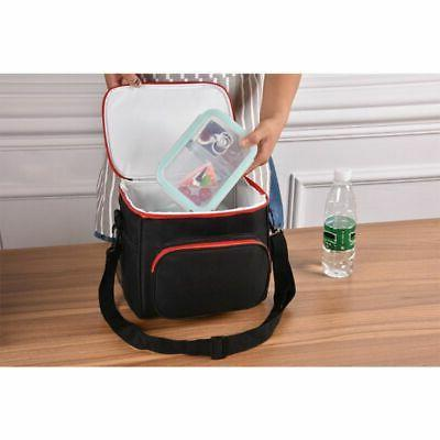 Portable Thermal Lunch Bag Travel Lunch Box Tote for Men