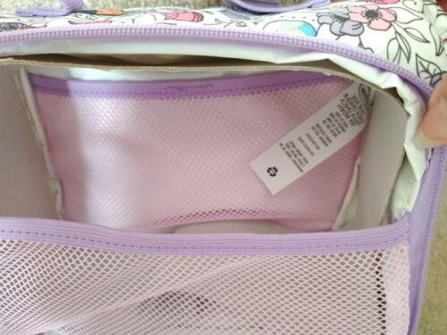 Disney Mulan Jasmine Belle Purple White Lunchbox