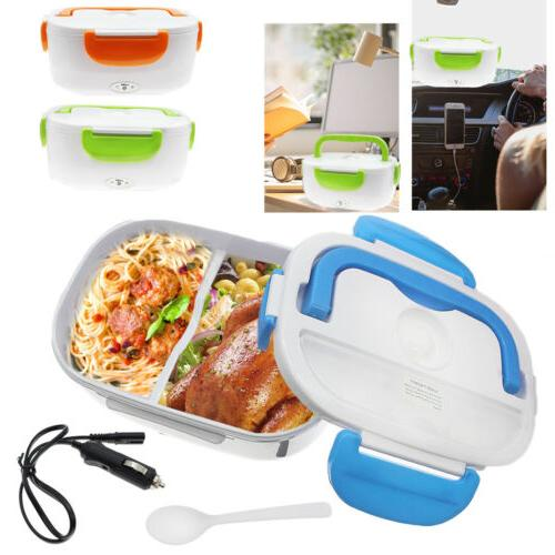 quality 12v portable car electric heating lunch
