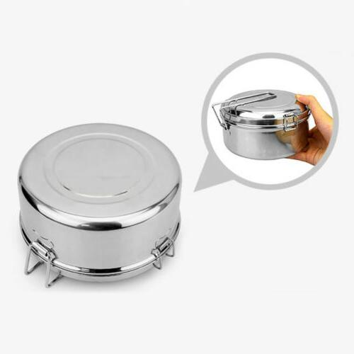 Small Lunch Box Stainless Steel Storage Containers Keep