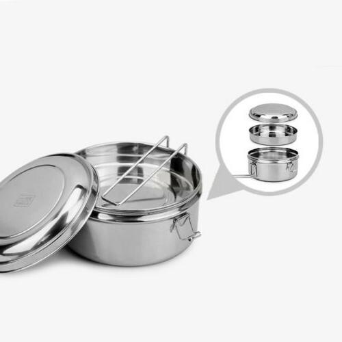 Small Lunch Stainless Storage Keep
