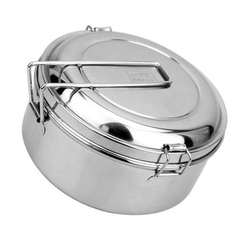 Small Lunch Box Stainless Storage Keep Warm