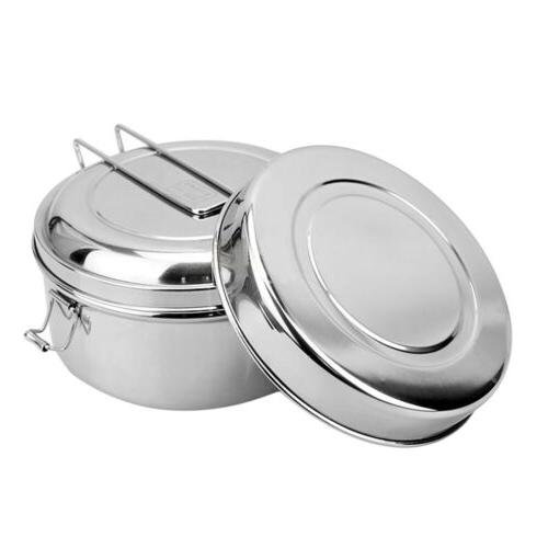 small lunch box food stainless steel storage