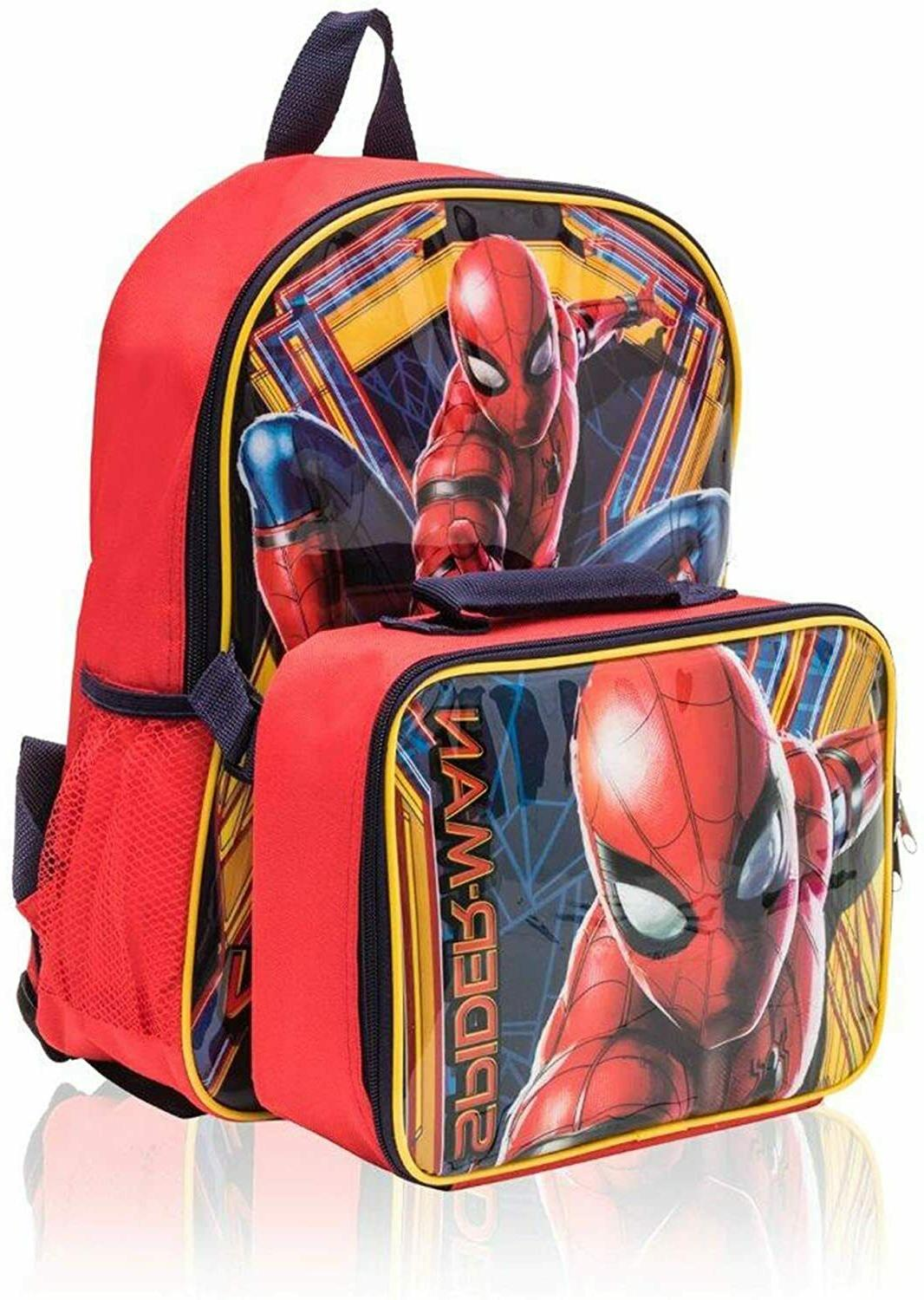 Marvel Spiderman with Detachable Lunch Piece kids - 16""