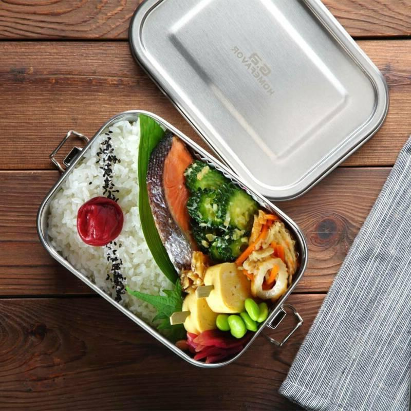 Stainless Steel Bento Lunch Food Leak Food Picnic Container US