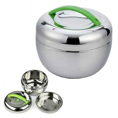 stainless steel insulated lunch box 1 liter