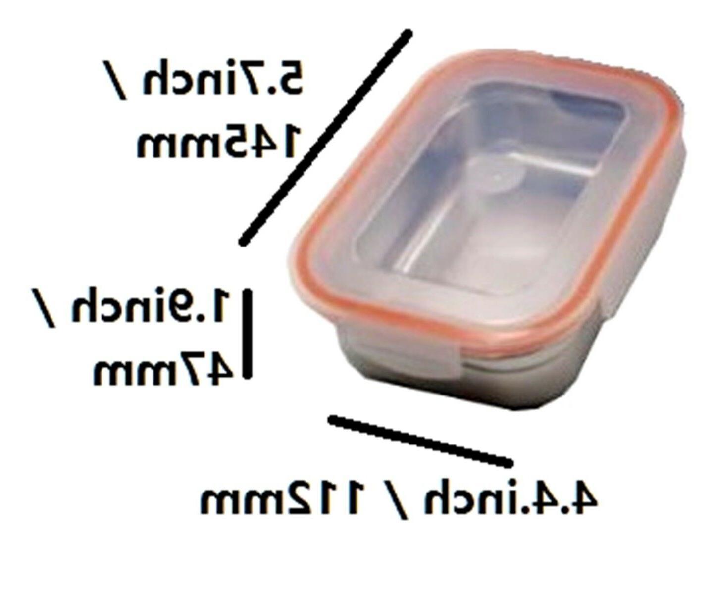 ALLPOOMLOCK Stainless Lunch Box Bag Shaker 14oz/15oz