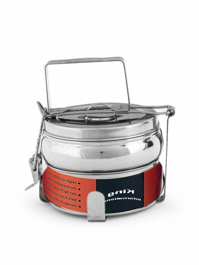 stainless steel pyramid tiffin box lunch box