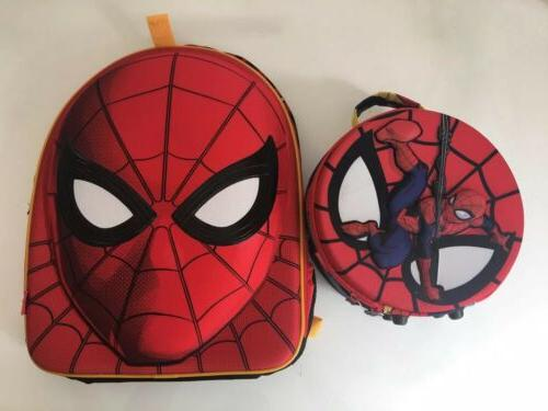 store retired hard padded spider man backpack