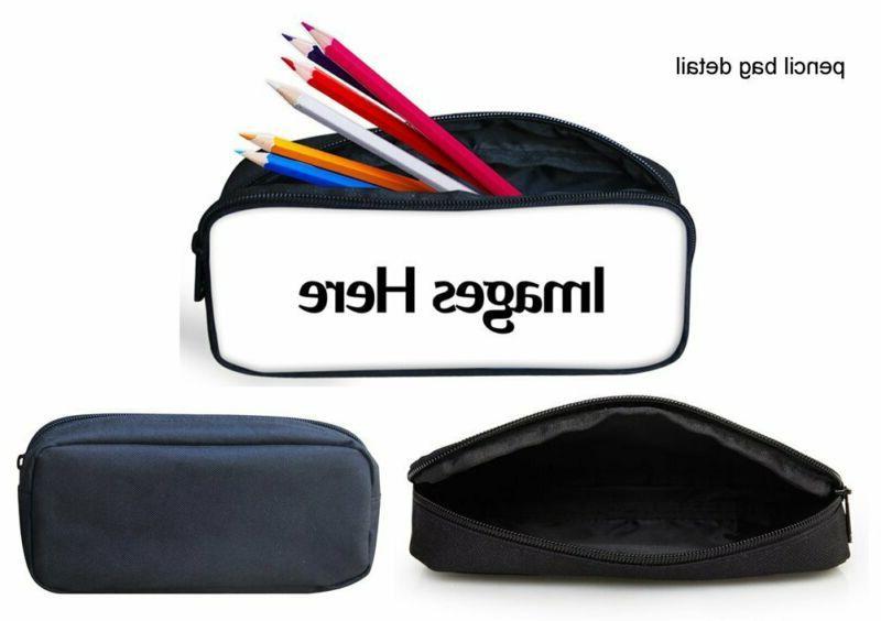 HUGS Backpack Teen Book bag with Box Pen C