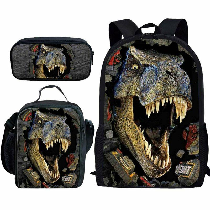 t rex dinosaur backpack teen boys school