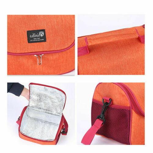 Thermal Insulated Bag For Kids Girl School Lunch Box Cooler