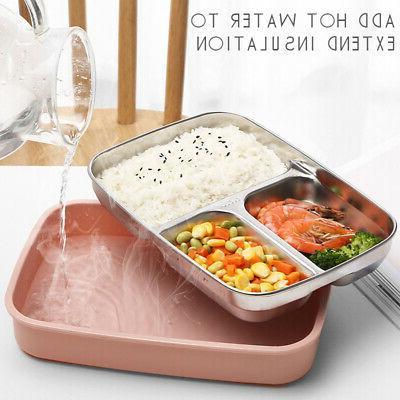 Food Container Handle Kids Steel