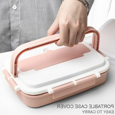 Thermos Lunch Box Food Kids Women Steel