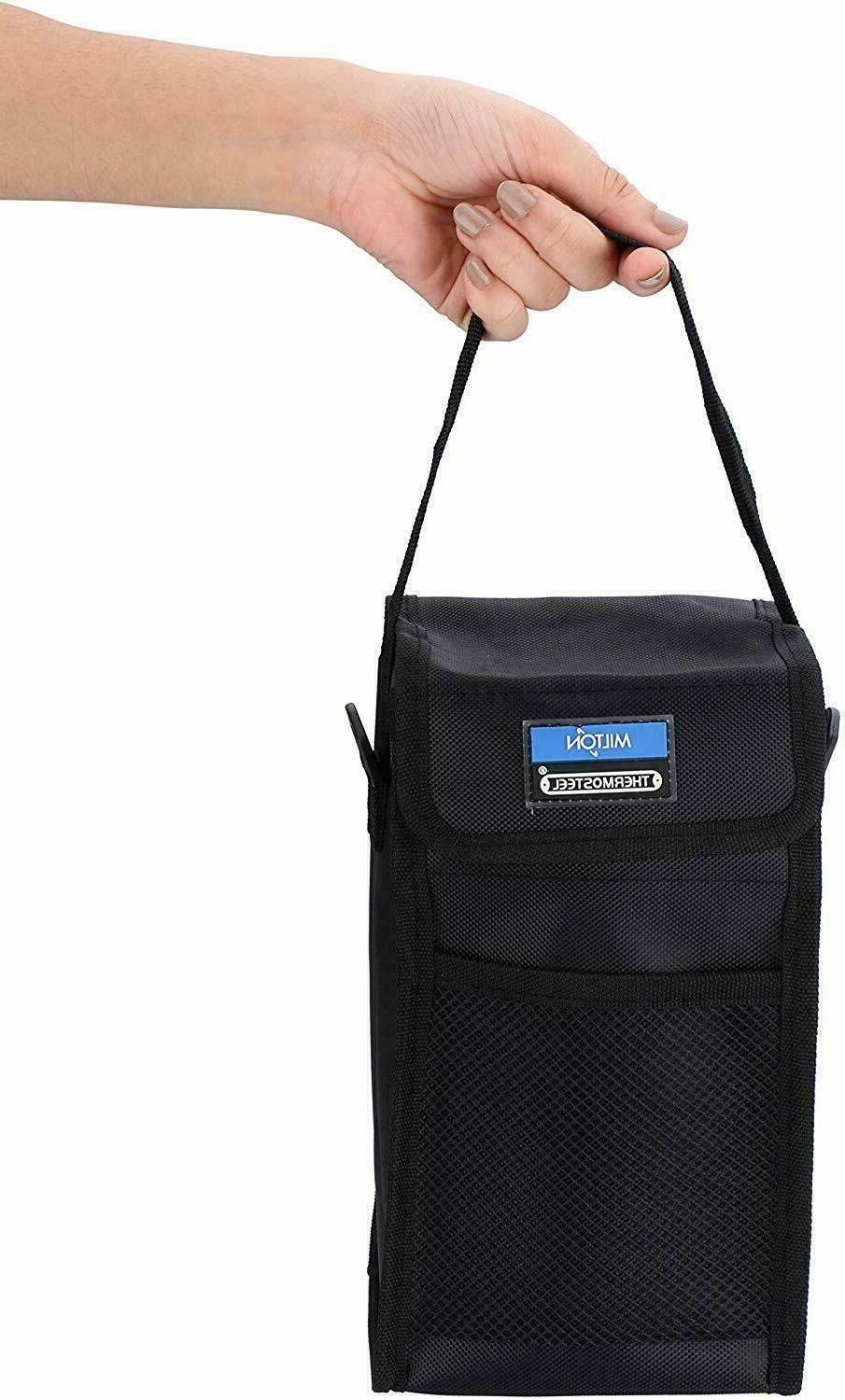 Milton Hot Lunch Box 4 Containers With Bag