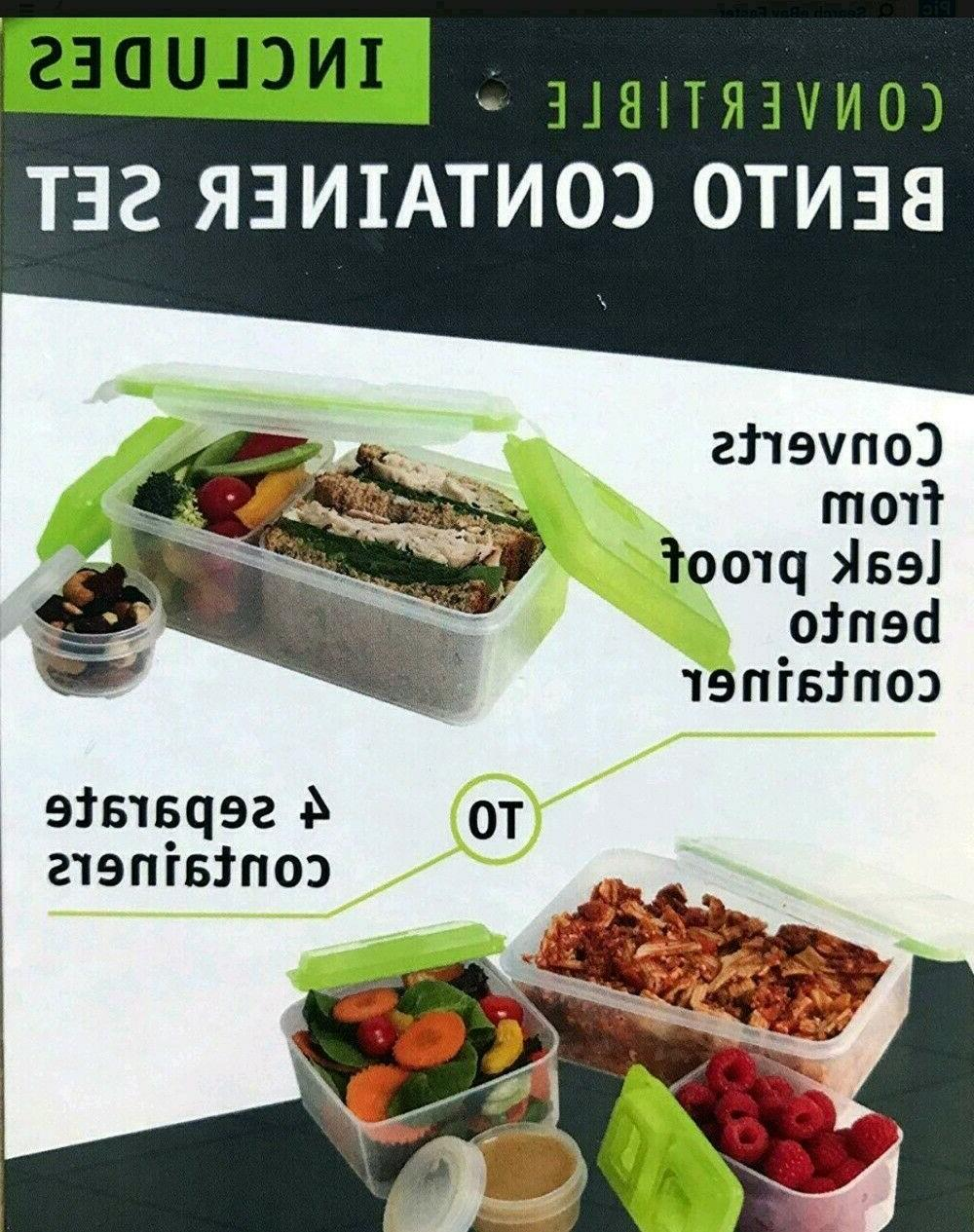 Ultra by Zone Expandable Lunch 2 Blk/Green