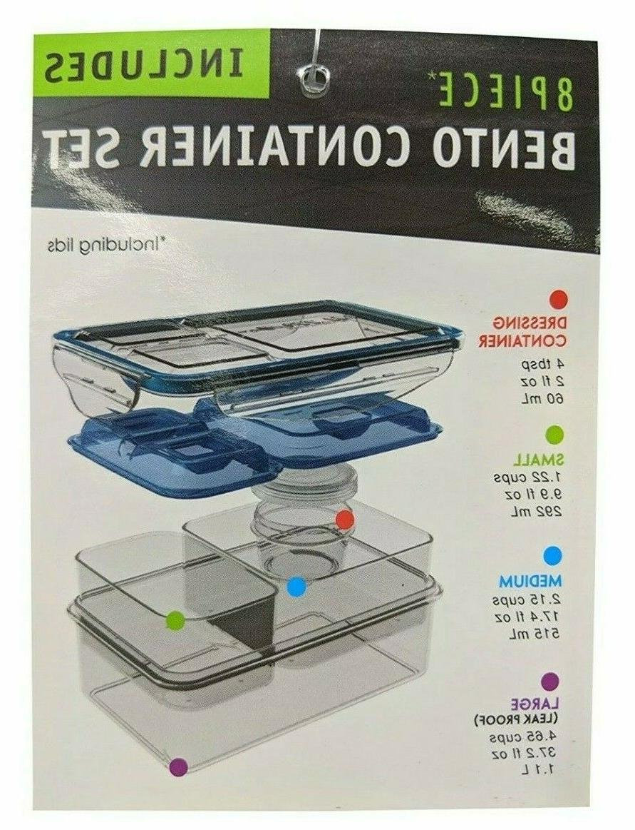 Ultra Expandable Lunch Box with 2