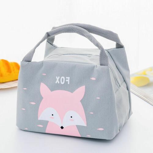 Unicorn Women Portable Insulated Lunch Box Cooler