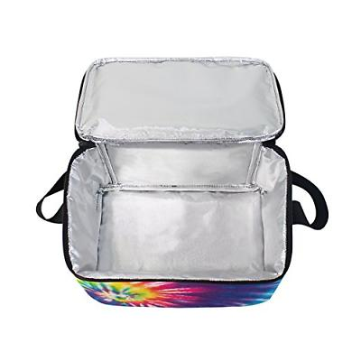 Use4 Colorful Insulated Bag Tote Bag for