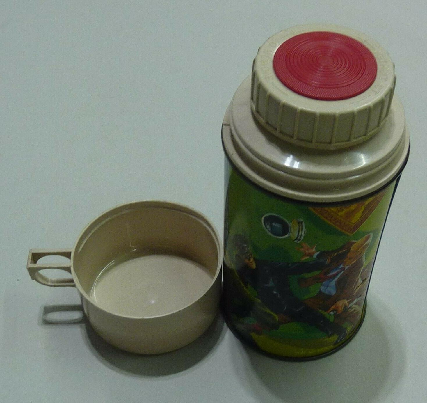 VINTAGE 1967 THE HORNET LUNCH THERMOS - GREAT CONDITION