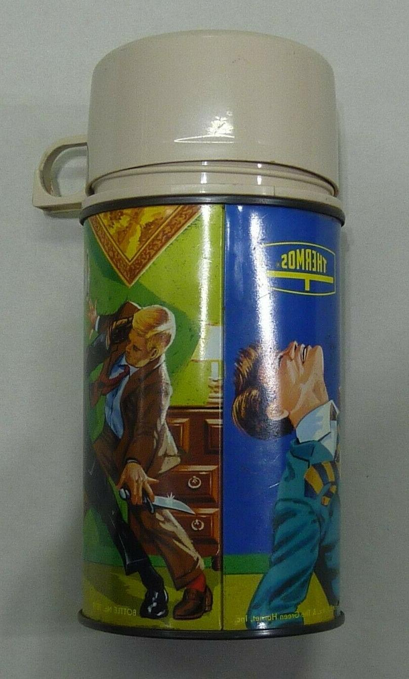 VINTAGE 1967 THE HORNET BOX THERMOS ONLY - CONDITION