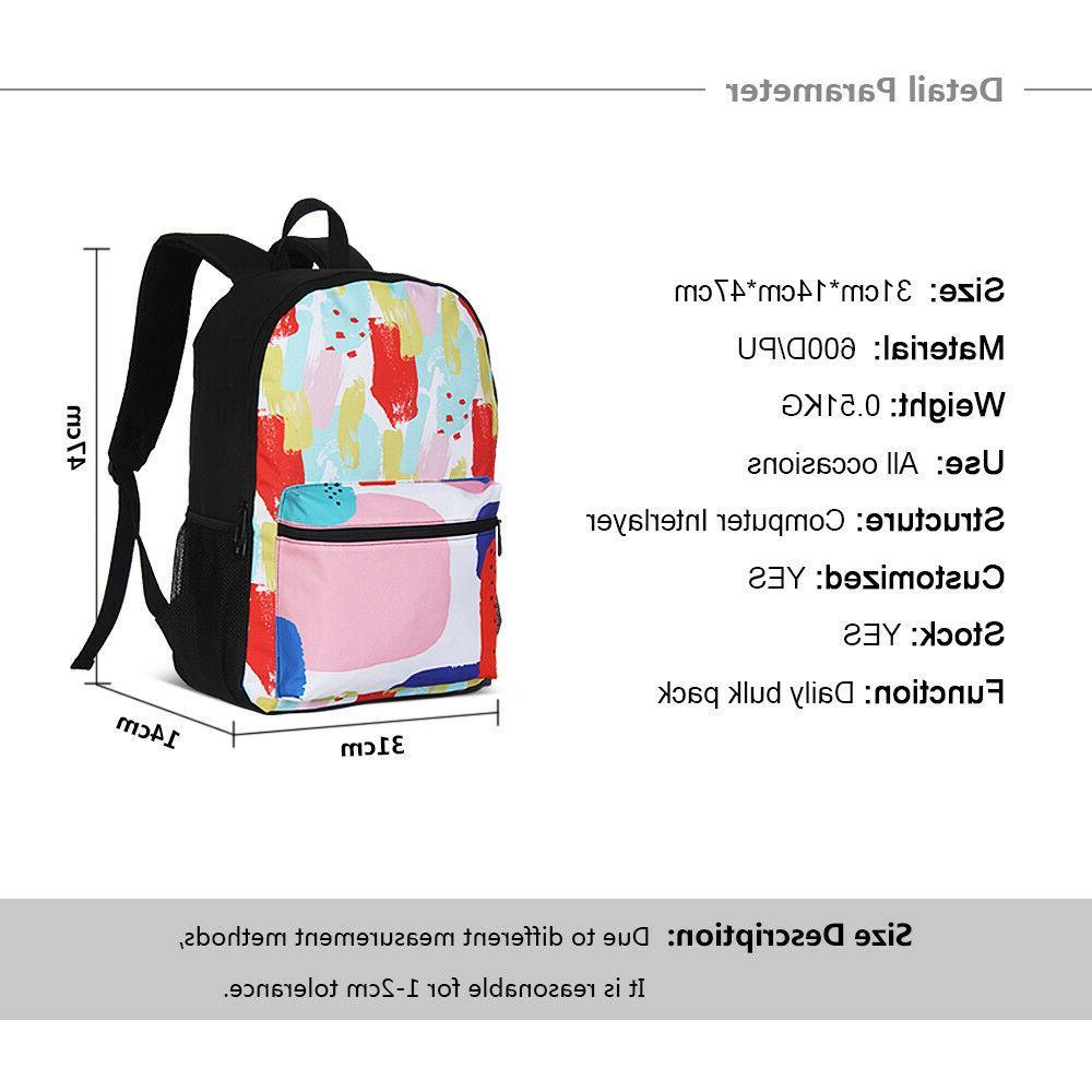 Fairy Schoolbag Lunch Pen Case Vitage Knapsack Lot