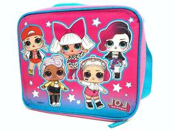 "L.O.L SURPRISE ""ALL GIRLS"" Lunch Bag with Shoulder Strap LOL"