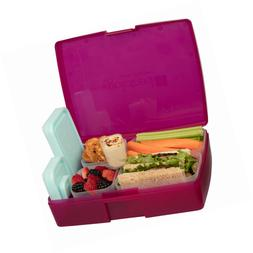 Bentology Leak-proof Bento Lunch Box with 5 Removable Contai