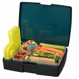 leak proof bento lunch box with 5