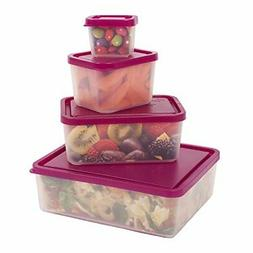 Bentology - Leak-proof Portion Control Lunch Containers - No