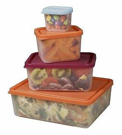 Bentology - Leakproof Portion Control Lunch Containers - No