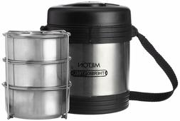 Milton Legend Stainless Steel Container Set, 690ml, Silver -