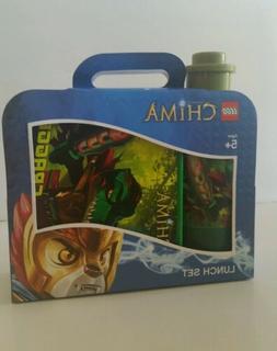 LEGO  Legends of Chima Cragger Green Lunch Set Box & Drinkin