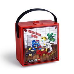 Lego Ninjago Box With Handle Bright Red