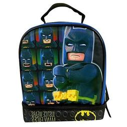 Lego Batman School Soft Insulated Dual Lunch Box Tote Kit Ba