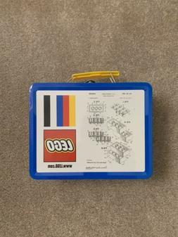 LEGO Tin Lunchbox With Original LEGO Brick Patent Sketch 500