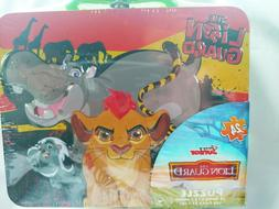 LION GUARD TIN / LUNCH BOX PUZZLE Disney Junior 24 Pieces Or